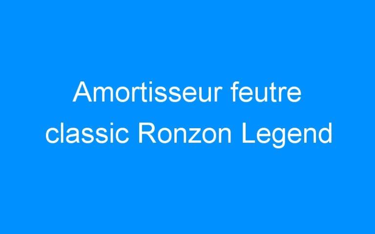 Amortisseur feutre classic Ronzon Legend