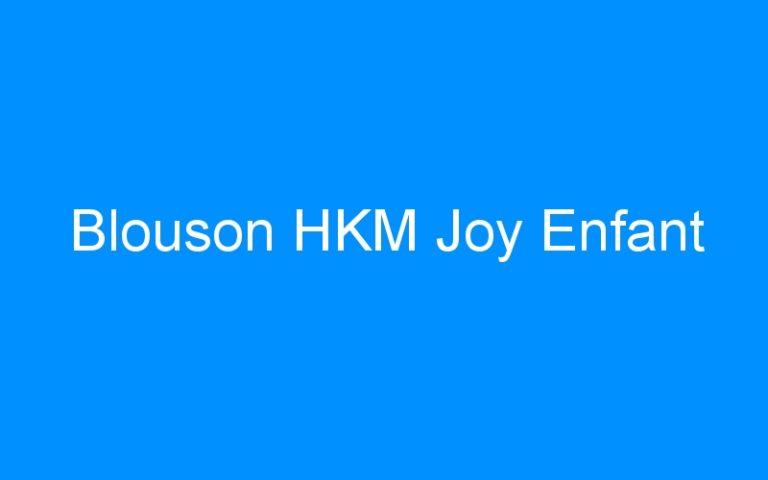 Blouson HKM Joy Enfant