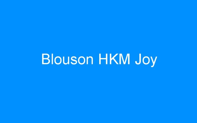 Blouson HKM Joy
