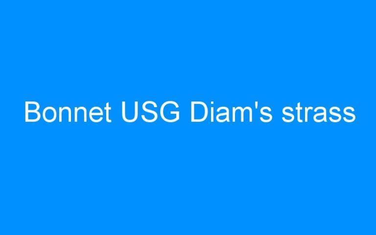 Bonnet USG Diam's strass