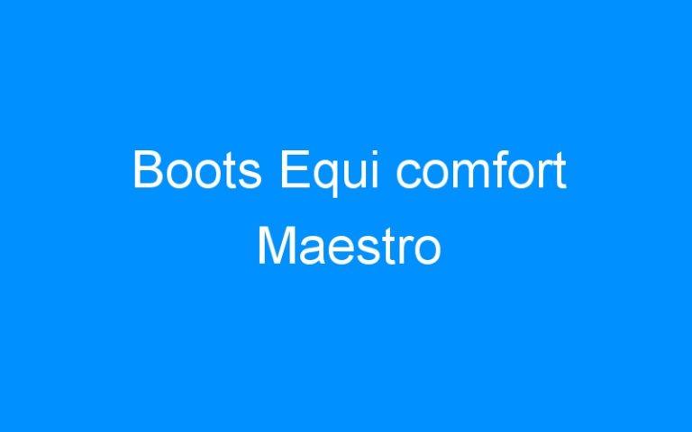Boots Equi comfort Maestro