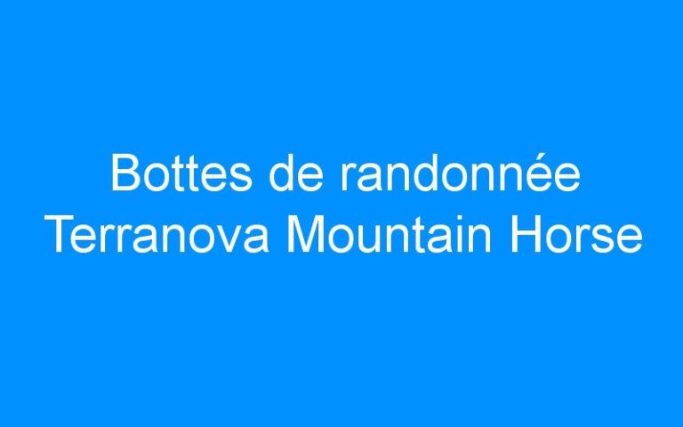 Bottes de randonnée Terranova Mountain Horse