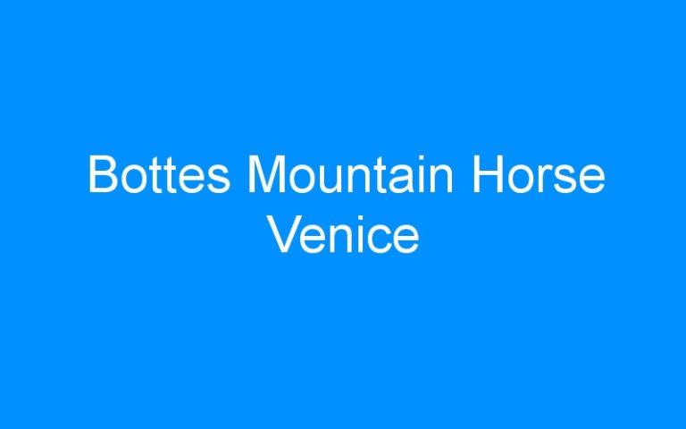 Bottes Mountain Horse Venice