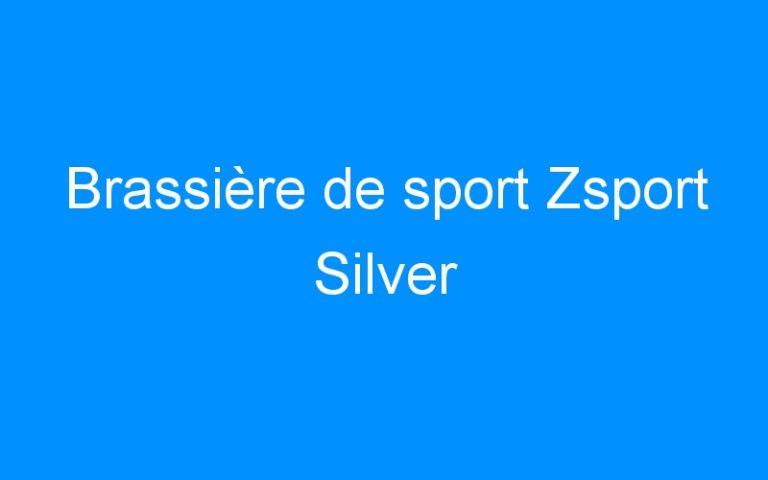 Brassière de sport Zsport Silver