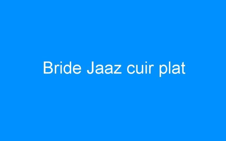 Bride Jaaz cuir plat