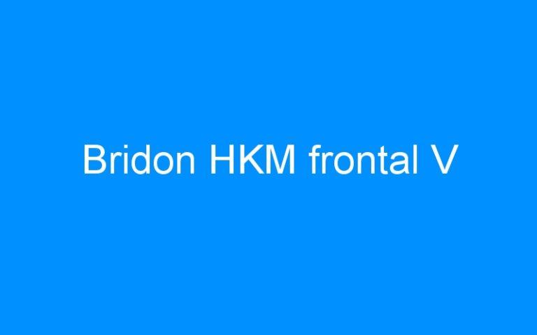 Bridon HKM frontal V