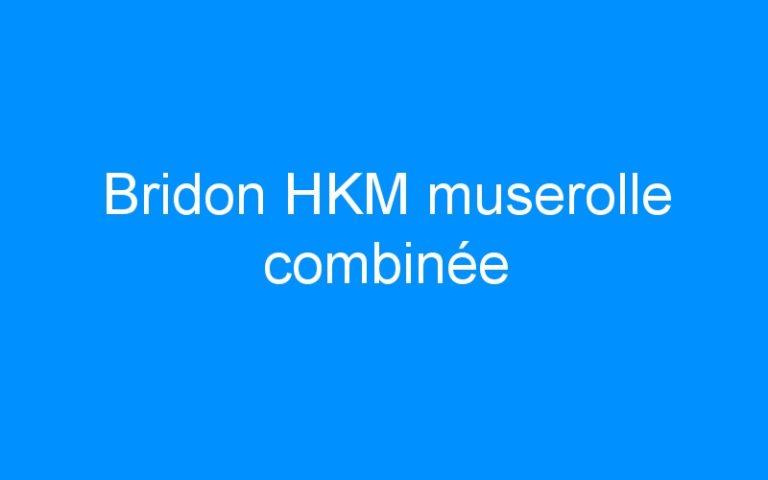 Bridon HKM muserolle combinée