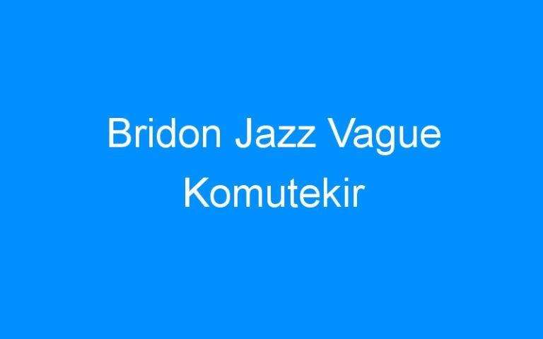 Bridon Jazz Vague Komutekir
