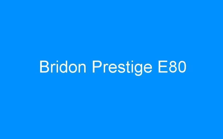 Bridon Prestige E80