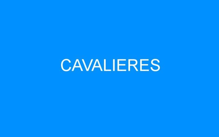 CAVALIERES