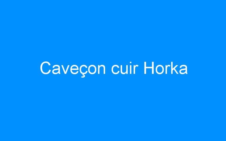 Caveçon cuir Horka