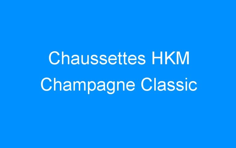 Chaussettes HKM Champagne Classic