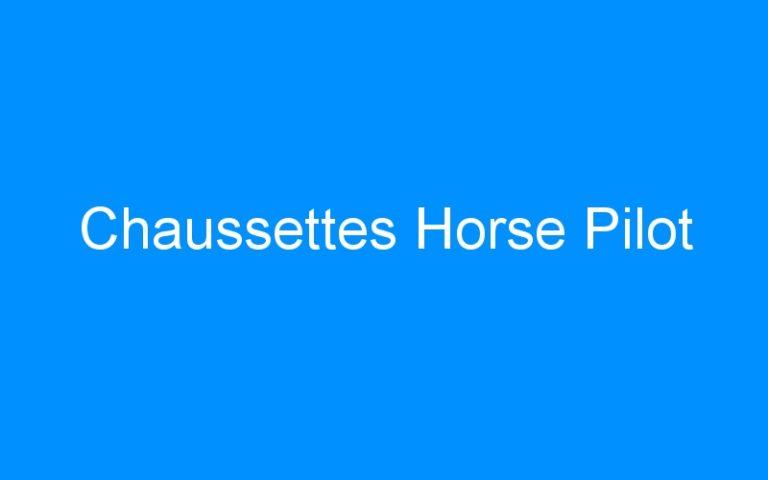 Chaussettes Horse Pilot