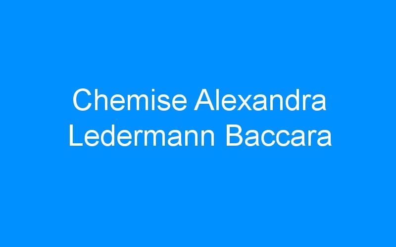 Chemise Alexandra Ledermann Baccara