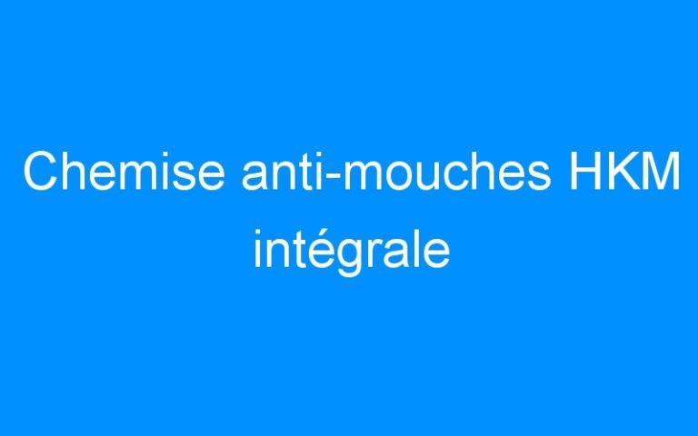 Chemise anti-mouches HKM intégrale