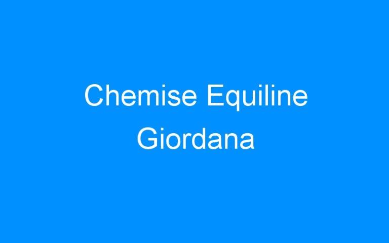 Chemise Equiline Giordana