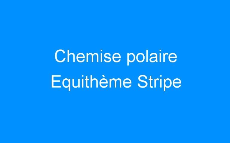 Chemise polaire Equithème Stripe