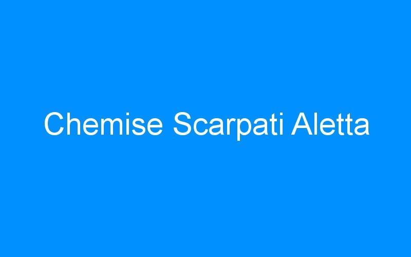 Chemise Scarpati Aletta