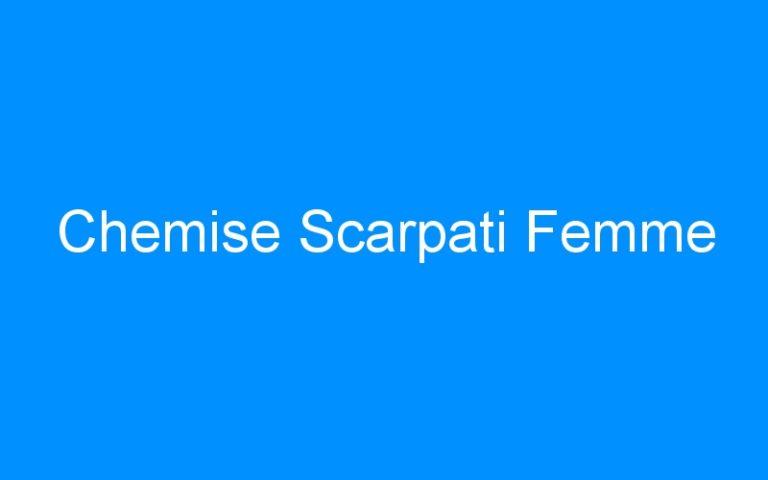 Chemise Scarpati Femme