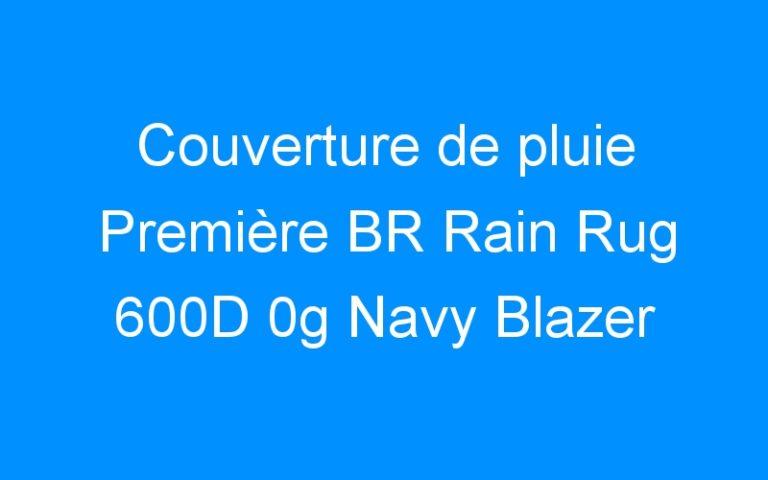 Couverture de pluie Première BR Rain Rug 600D 0g Navy Blazer