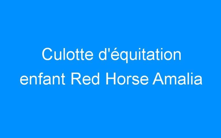 Culotte d'équitation enfant Red Horse Amalia