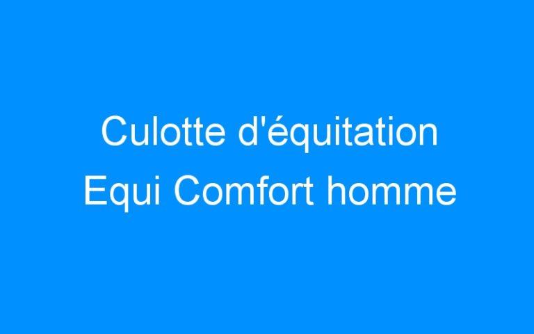 Culotte d'équitation Equi Comfort homme