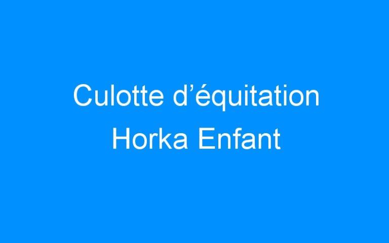 Culotte d'équitation Horka Enfant