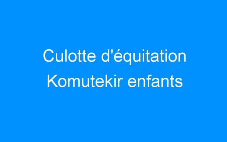 Culotte d'équitation Komutekir enfants