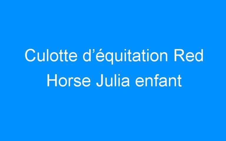 Culotte d'équitation Red Horse Julia enfant