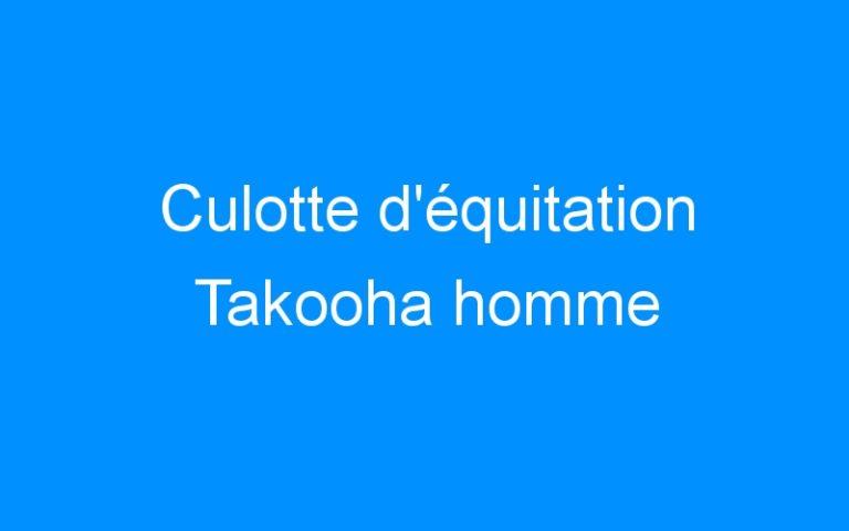 Culotte d'équitation Takooha homme