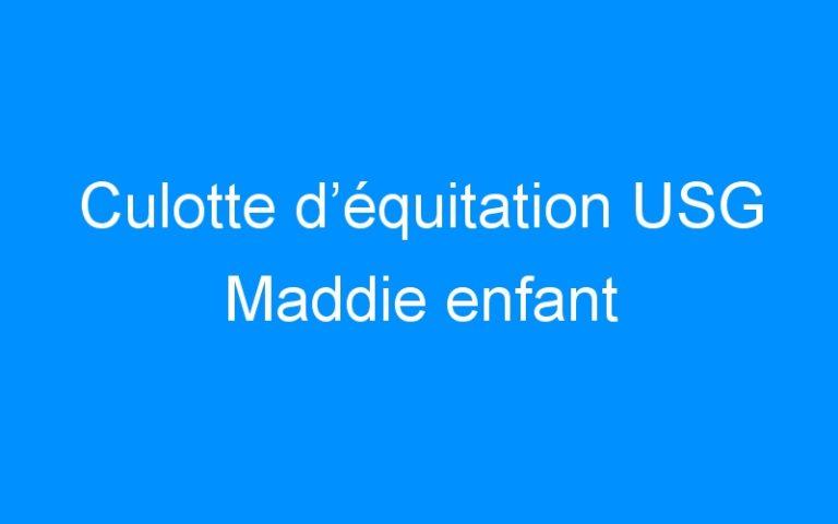 Culotte d'équitation USG Maddie enfant