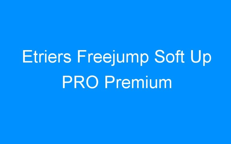 Etriers Freejump Soft Up PRO Premium