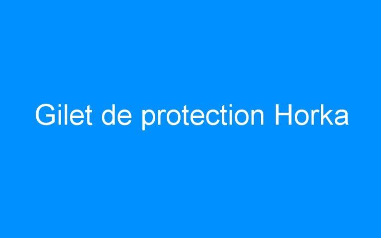 Gilet de protection Horka