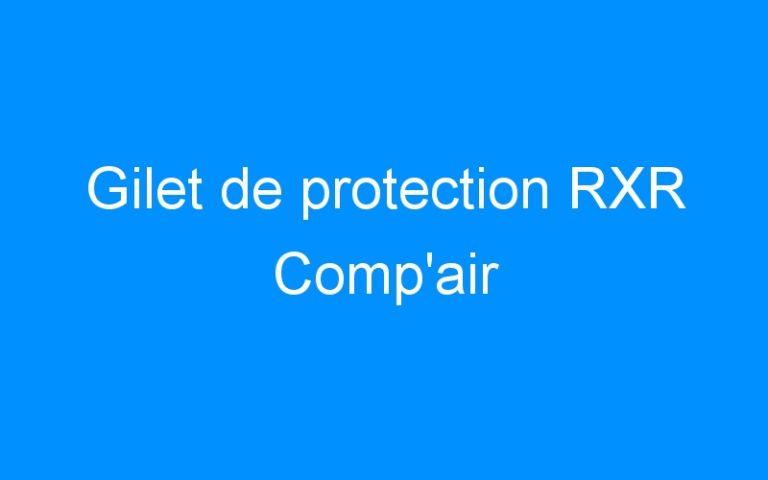 Gilet de protection RXR Comp'air