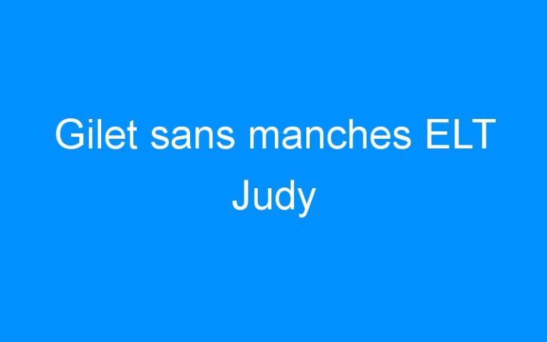 Gilet sans manches ELT Judy