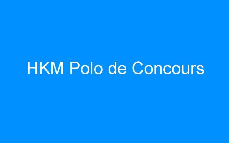 HKM Polo de Concours