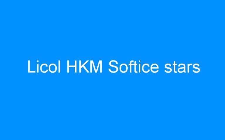 Licol HKM Softice stars