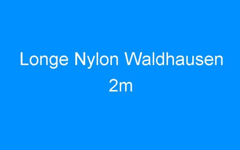 Longe Nylon Waldhausen 2m