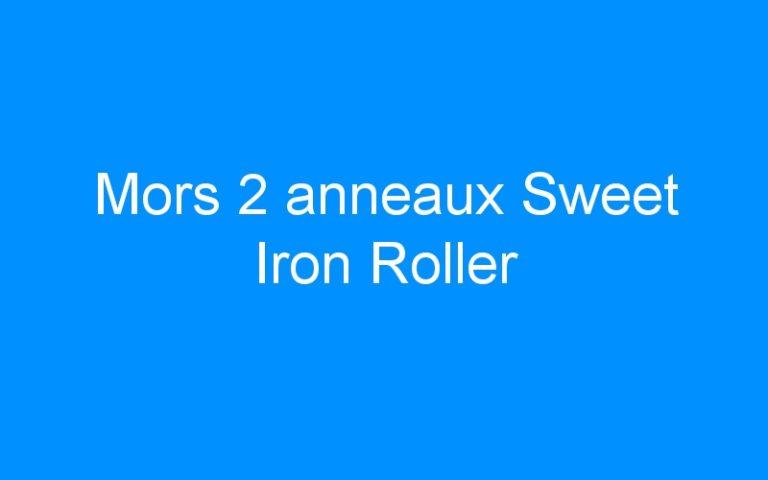 Mors 2 anneaux Sweet Iron Roller