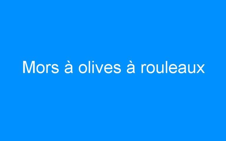 Mors à olives à rouleaux