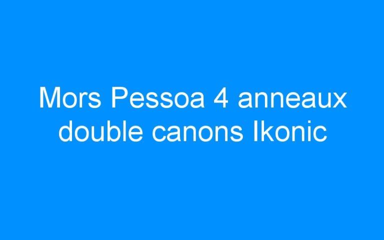 Mors Pessoa 4 anneaux double canons Ikonic