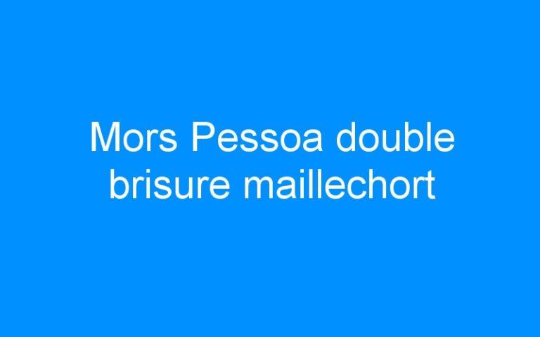 Mors Pessoa double brisure maillechort