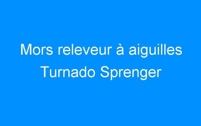Mors releveur à aiguilles Turnado Sprenger