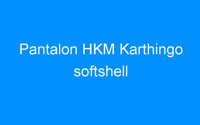 Pantalon HKM Karthingo softshell