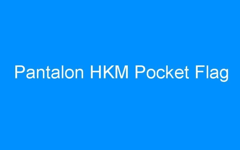 Pantalon HKM Pocket Flag