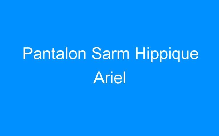 Pantalon Sarm Hippique Ariel