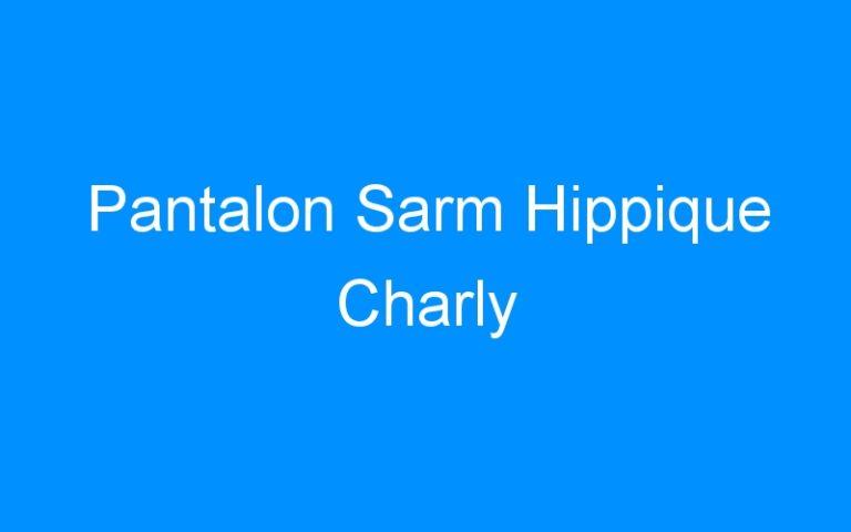 Pantalon Sarm Hippique Charly