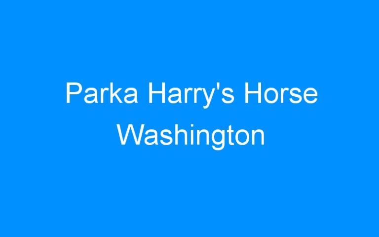 Parka Harry's Horse Washington