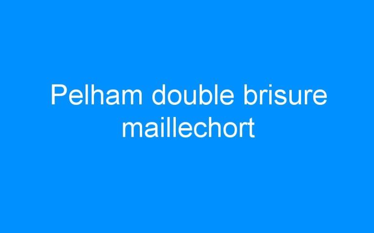 Pelham double brisure maillechort