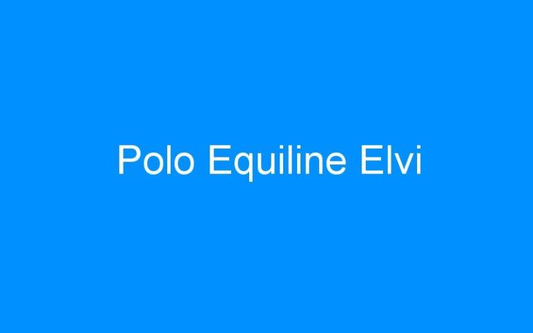 Polo Equiline Elvi